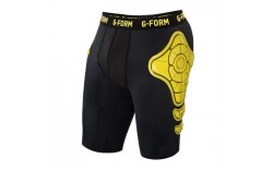 Short de protection Unisex Noir jaune