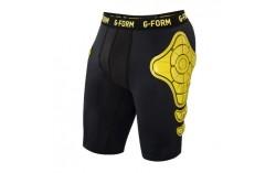 Short de protection Unisex Noir jaune