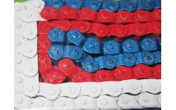 Chaine YBN tricolore