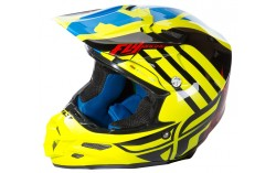 Casque FLY F2 CARBON SOLIDS white