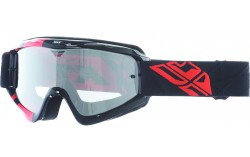 Masque FLY ZONE red/black - Ecran clear/flash chrome lens