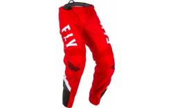 PANTALON BMX FLY F-16 2020 ROUGE/NOIR/BLANC KID
