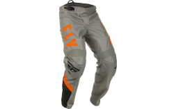 PANTALON BMX FLY F-16 2020 GRIS/NOIR/ORANGE KID