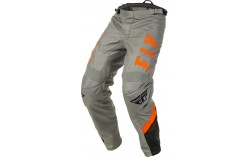 PANTALON BMX FLY F-16 2020 GRIS/NOIR/ORANGE