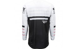MAILLOT FLY KINETIC K120 2020 NOIR/BLANC/ROUGE