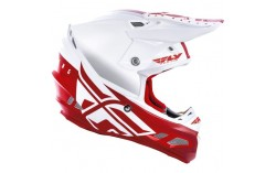 CASQUE FLY F2 MIPS SHIELD 2020 BLANC/ROUGE
