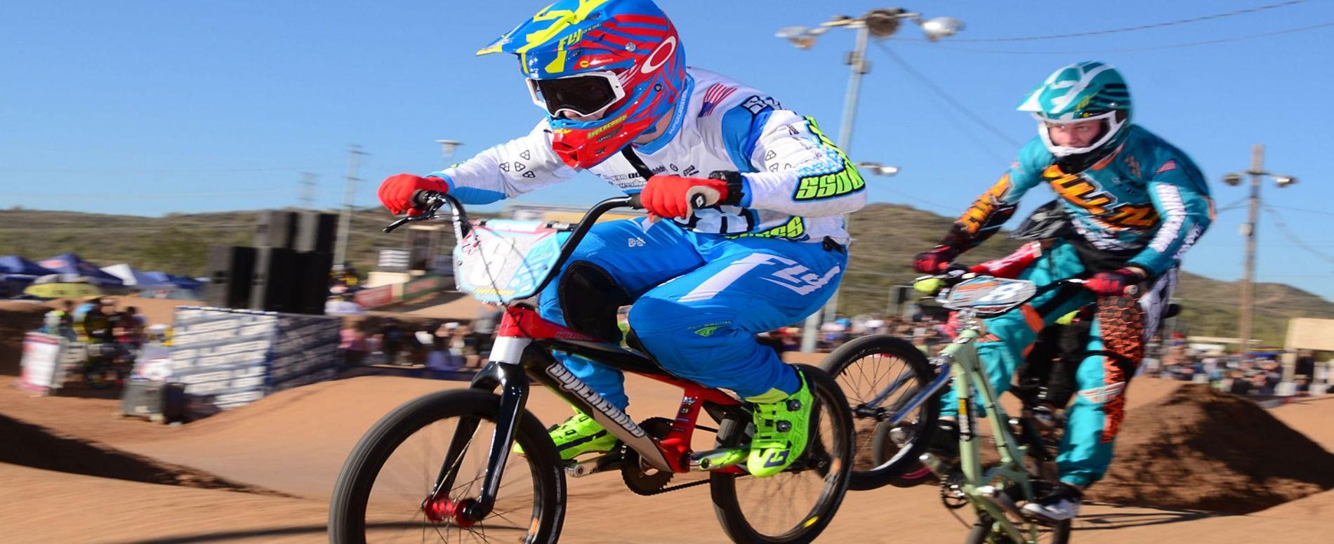 rider bmx race