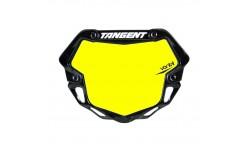Plaque TANGENT ventril 3D mini fond jaune