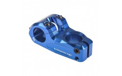 Potence PRIDE CAYMAN 31.8mm bleu