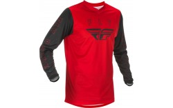 MAILLOT FLY F-16 2021 ROUGE/NOIR