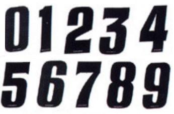 Numéro de plaque